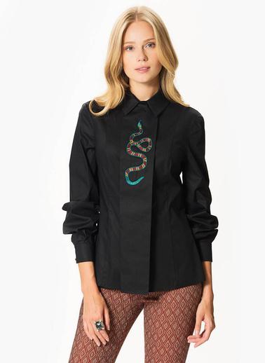 Roman Gömlek Siyah